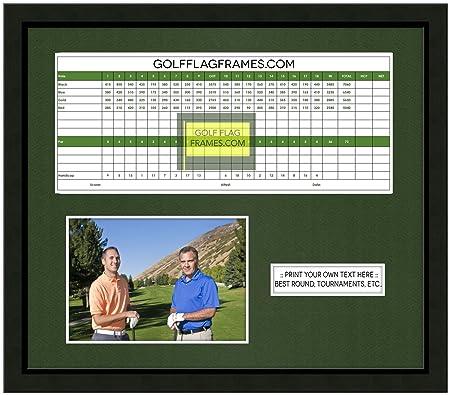 13 x 15 negro puntuación de Golf marco de fotos, moldura blk-001 ...