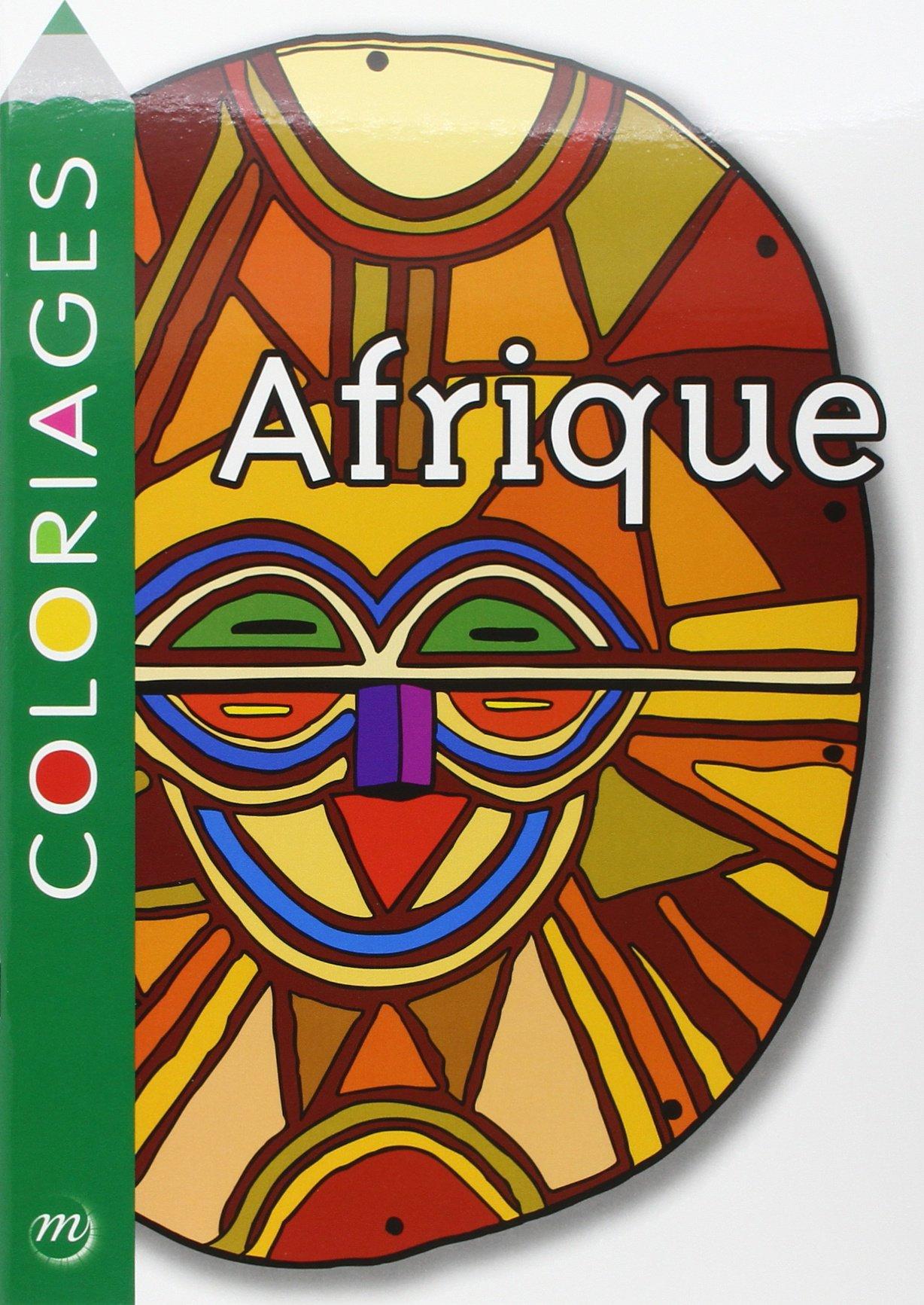Coloriage afrique ecole maternelle - Dessin de masque africain ...