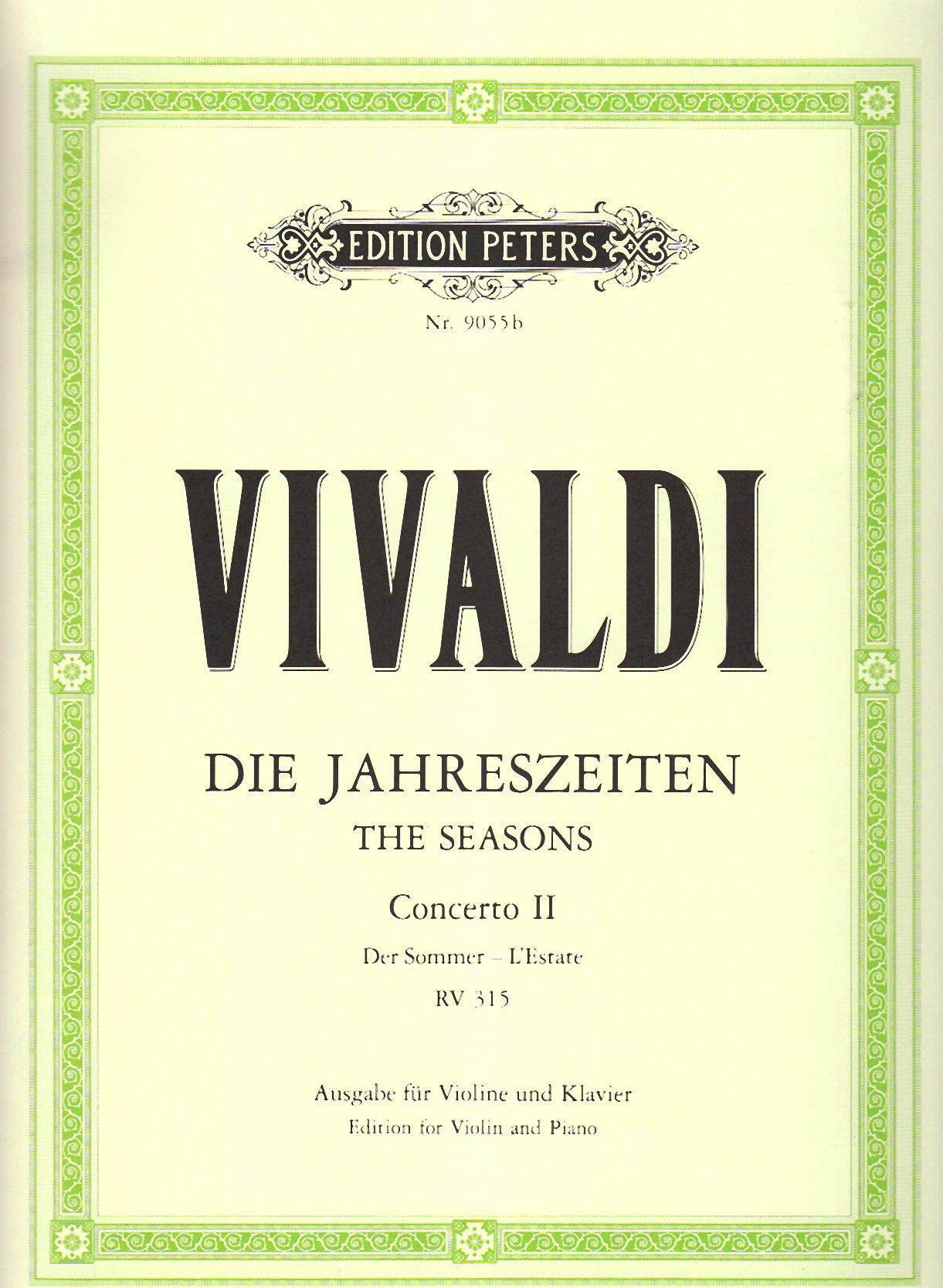 Die Jahreszeiten: Konzert für Violine, Streicher und Basso continuo g-Moll op. 8 Nr. 2 RV 315