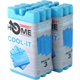Target Homewares® Reusable Freezer Blocks - Cools & Keeps Food Fresh - Use With Target Cool Box For Added Cooling (Pack of 6)