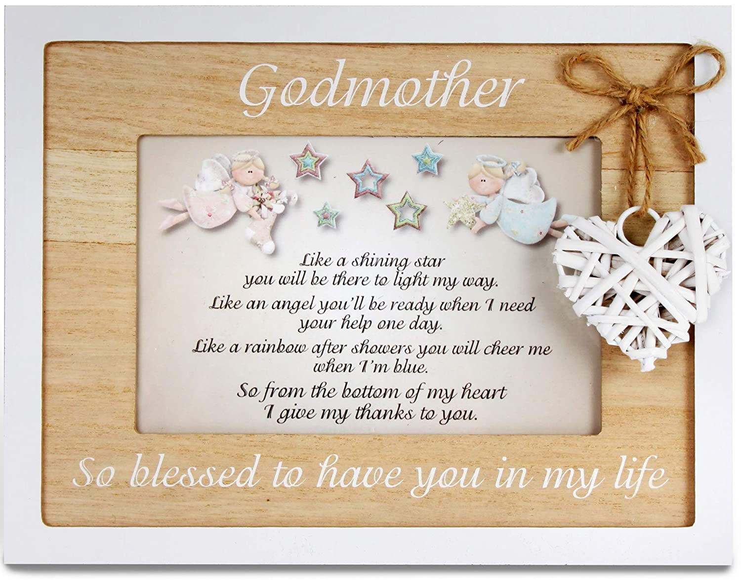 Amazon.com - Godmother Frame 4x6 Perfect Godmother Gift from ...