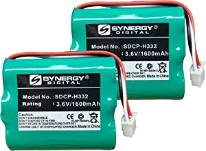 Huawei HGB-15AAX3 Cordless Phone Battery Combo-Pack Includes: 2 x SDCP-H332 Batteries