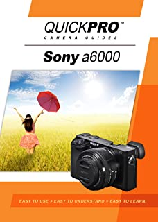 The Complete Guide To Sonys A6000 Camera Pdf