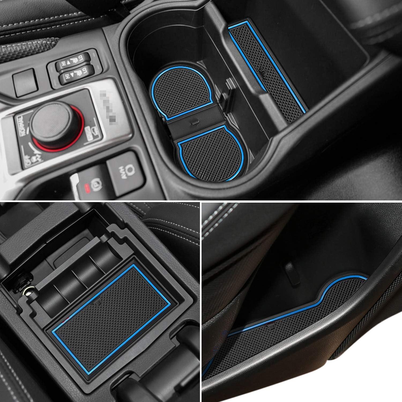 1 pcs Orange Trim Dashboard Mat Auovo Dashboard Mats Car Dash Rubber Pad Liner for 2018-2020 Subaru Crosstrek Impreza 2019-2020 Forester Interior Accessories