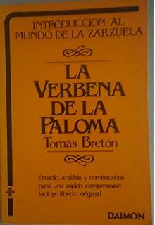 La Verbena de La Paloma (Spanish Edition)