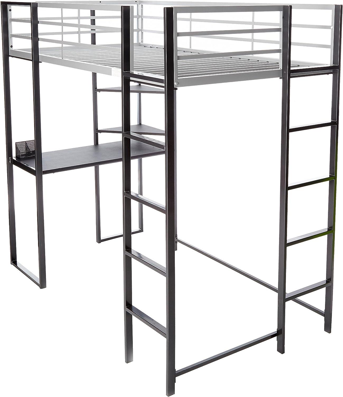 247SHOPATHOME bunk-beds, Twin, Silver
