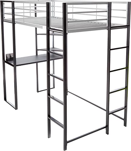 247SHOPATHOME bunk-beds, Twin, Silver