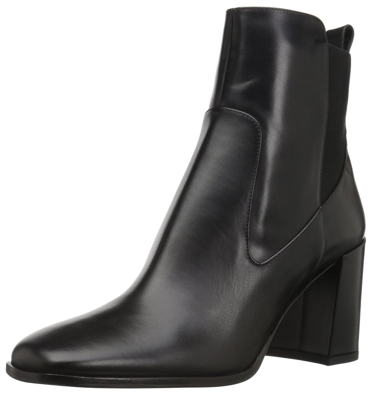 d0c9f006e1b8 Via Spiga Women's Delaney Chelsea Boot B06XGVQ7SQ 5 B(M) US|Black Leather