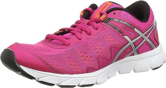 ASICS Gel-Evation 2 - Zapatillas de Running para Mujer, Color Morado (Magenta/Silver/Onyx 2593), Talla 42.5: Amazon.es: Zapatos y complementos