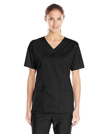 6cac4fa908113 Amazon.com  WonderWink Women s Plus-Size Wonderwork V-Neck Scrub Top ...