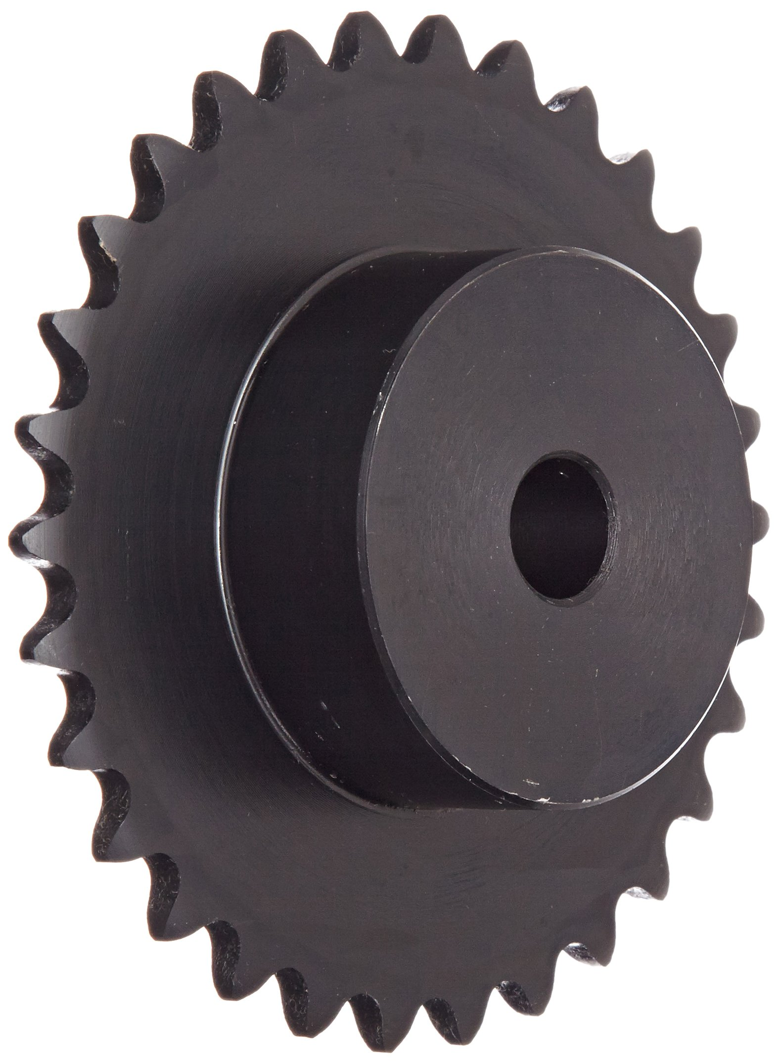 Browning 35B30 Minimum Bore Roller Chain Sprocket, Single Strand, Steel, 1/2'' Stocked Bore, 30 Teeth by Morse