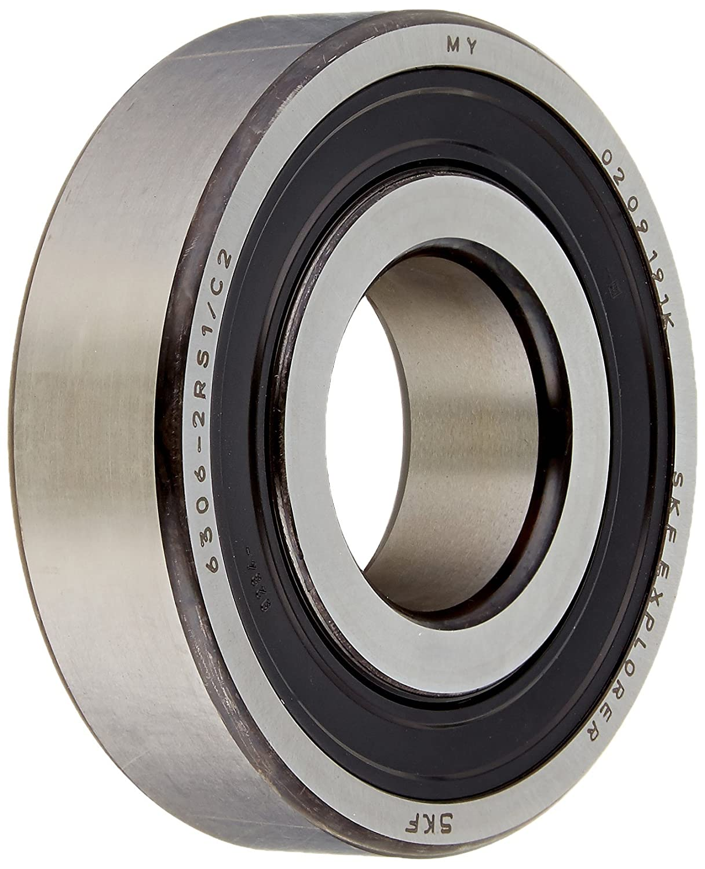 SKF 6306-2RS1 Dual Sealed Single Row Ball Bearing 30mm x 72mm x 19mm  NEW