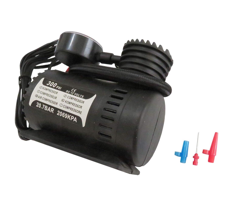 Moostore 300PSI C300 12V Mini Air Compressor Auto Car Electric Tire Air Inflator Pump