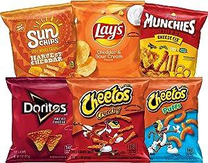 Frito Lay Cheesy Mix Variety Pack, 40 Count