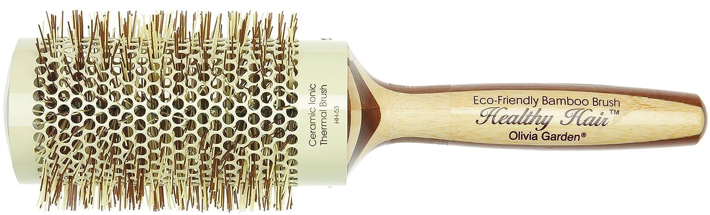 Olivia Garden HH-53 Healthy Hair - Cepillo térmico de cerámica y bambú (53 x 70 mm): Amazon.es: Belleza