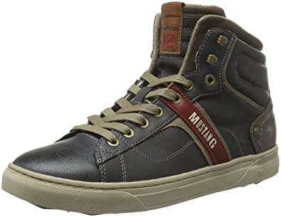 Sneakers Chaussures 502 4108 Homme Mustang Hautes Sacs et X5AEq5wx