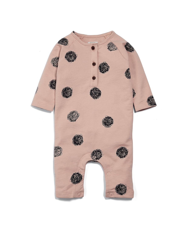 Mamas & Papas Baby Girls' Spot Print Romper Mamas and Papas