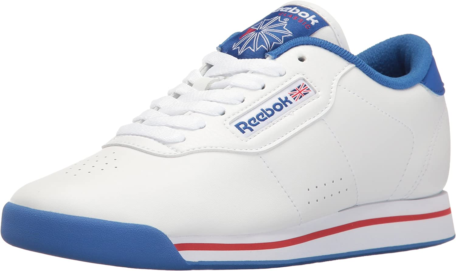 Retro Sneakers, Vintage Tennis Shoes Reebok Womens Princess Fitness Lace-Up Fashion Sneaker $36.00 AT vintagedancer.com