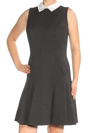 9d59d6e92844 Lauren Ralph Lauren Womens Delilah Polka Dot Textured Party Dress B ...