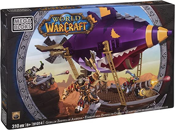 Mega Bloks 91014 World of Warcraft Zeppelin Goblin , color/modelo surtido: Amazon.es: Juguetes y juegos