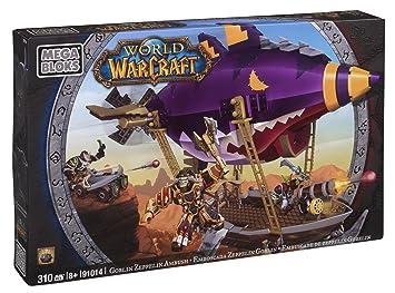 Mega Bloks 91014 World of Warcraft Zeppelin Goblin