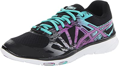 Asics - Zapatillas de Running para Mujer Negro Black/Plum/Aqua ...