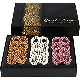 Hazel & Creme Chocolate Covered Pretzel Twist - Chocolate Gift Basket Corporate, Birthday, Holiday, Thank You (Large Pretzel