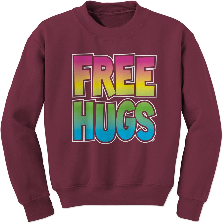 Expression Tees Free Hugs Crewneck Sweatshirt