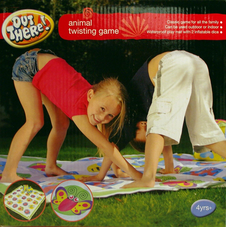 Animal Twister Giant Garden Game garden games