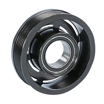 1x Polea para compresor de aire acondicionado. Incluye platina y acople magnético OPEL ZAFIRA 2.0