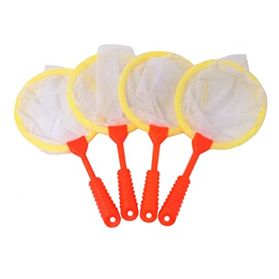 HONBAY 4pcs Kids Bug Catcher Nets Kids Toy Catcher Tool: Toys & Games