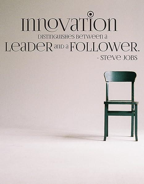 Stickerbrand Steve Jobs Cita De Innovación La Innovación