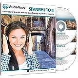 AudioNovo Spanish I-III - Learn Spanish in 3 Months from beginner to advanced speaker (audio program)