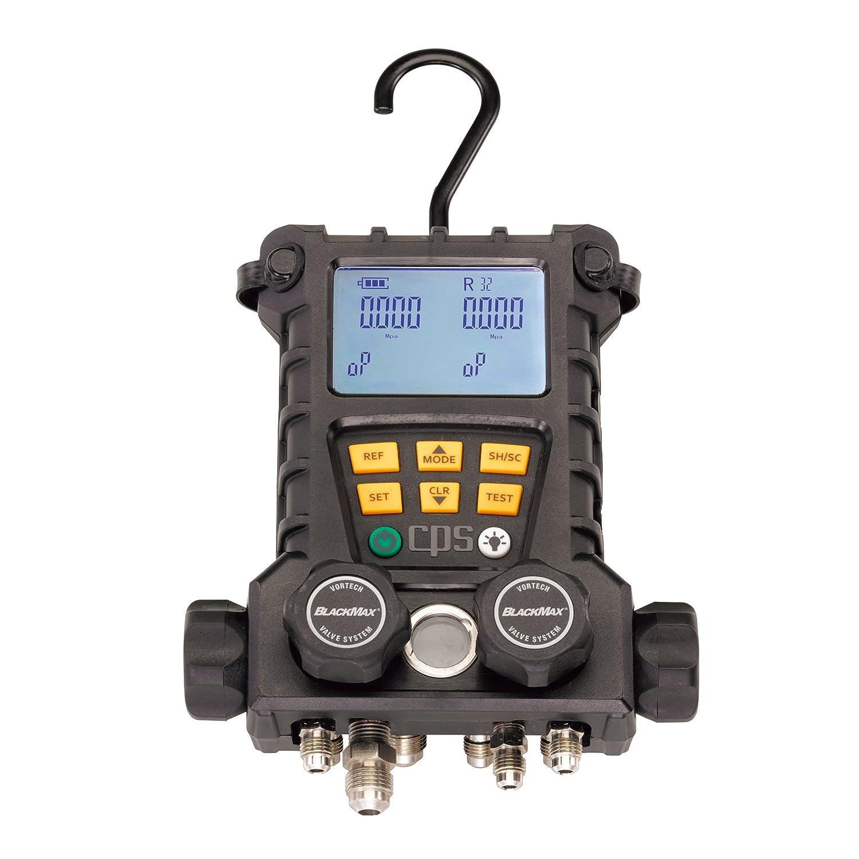 イチネンTASCO(イチネンTASCO) 4バルブ式デジタルマニホールド(R22404A407C用) TA120CX-1 B01E58EWBK