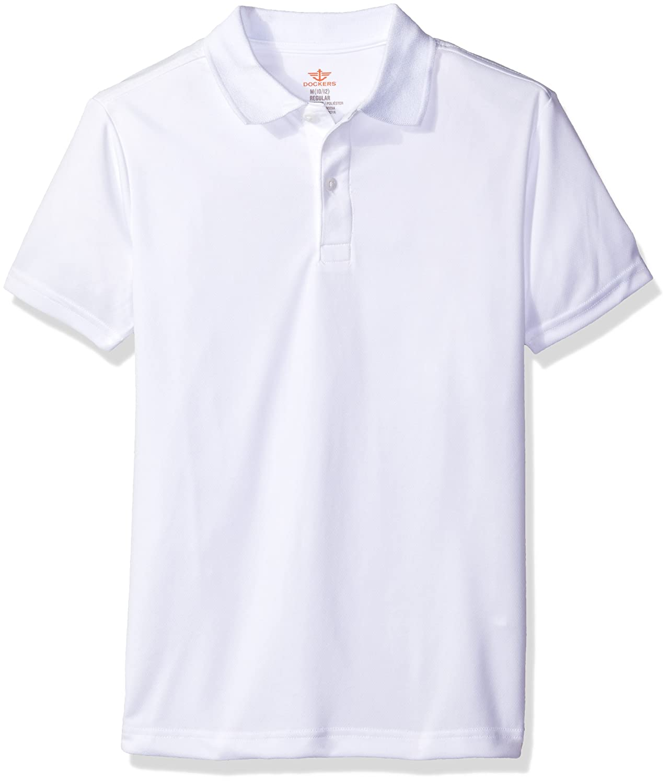 Dockers Boys Short Sleeve Performance Polo