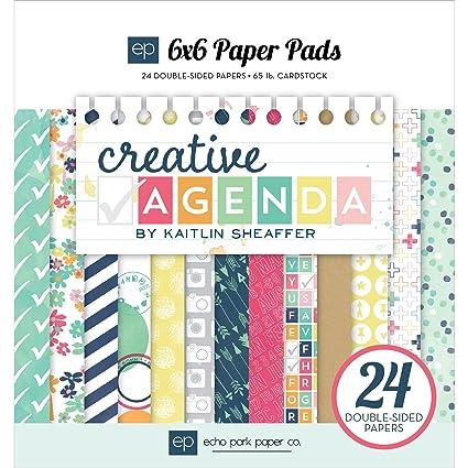 Echo Park Paper Company CA70023 Creative Agenda Paper Pad