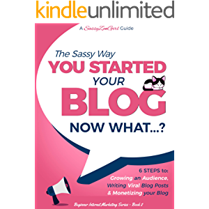 You Started a Blog - Now What....?: 6 Steps to Growing an Audience, Writing Viral Blog Posts & Monetizing your Blog…