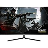 VIOTEK GNV32DB 32-Inch Curved Gaming Monitor | 144Hz WQHD 2560 x 1440p | G-Sync-Ready FreeSync with LFC | 3X HDMI DP Audio Ou