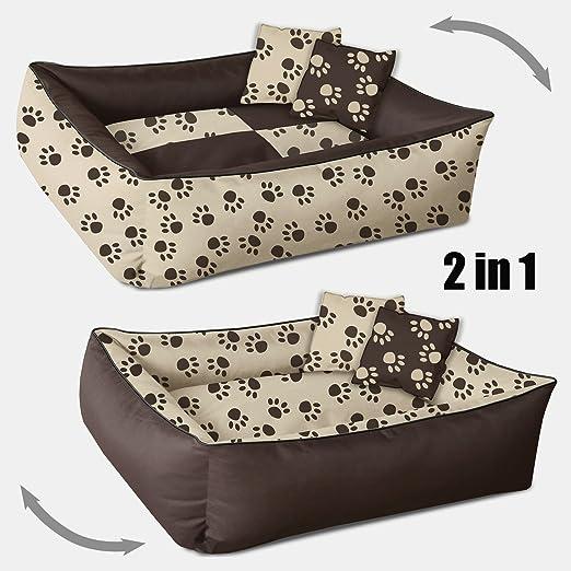 155 opinioni per Beddog 2in1 MAX QUATTRO marrone/beige XXL, 120x85 cm, letto per cane L fino a