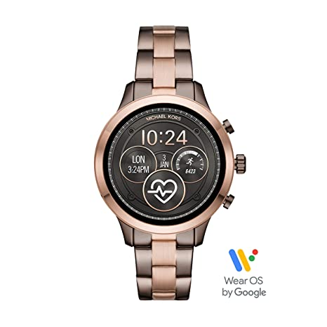 Amazon.com: Michael Kors Access Runway Reloj inteligente de ...