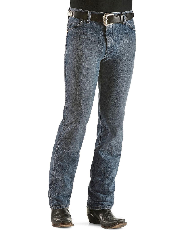 4e2304c9 Galleon - Wrangler Men's Cowboy Cut Slim Fit Jean, Rough Stone, 32Wx30L