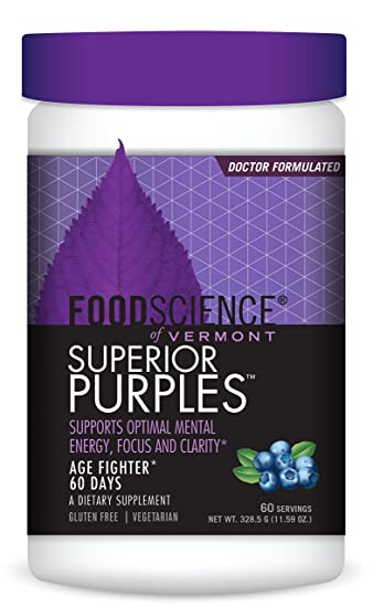 Amazoncom Foodscience Of Vermont Superior Purples Dietary