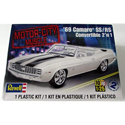 Revell '69 Camaro SS/RS Convertible 2'n 1: Toys & Games [5Bkhe0502013]