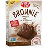 Enjoy Life Foods Gluten Free Brownie Mix with Ancient Grains, Gluten, Dairy, Nut & Soy Free and Vegan, 14.5 Ounce