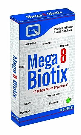 Quest Mega 8 Biotix, 30 Capsules