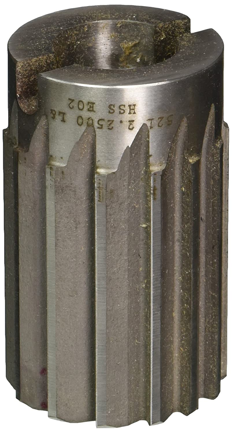 Drill America 2-1//4 High Speed Steel Straight Flute Shell Reamer DWR Series