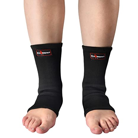 Boxing BOOM Pro Elasticated Ankle Foot Support Anklet Martial Arts Foot Protector MMA Protective Gear Kick Boxing