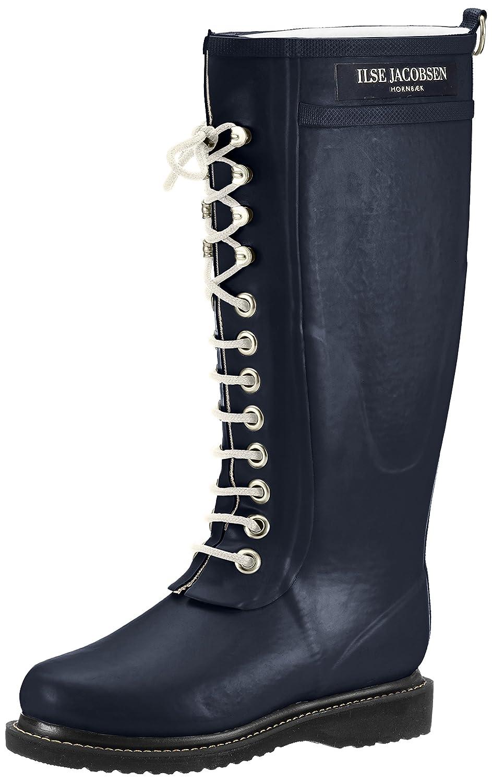 ILSE JACOBSEN Women's Rub 1 Rain Boot B01FMRWO3G 40 B US EU / 10-10.5 B US B Women|Dark Indigo 470108