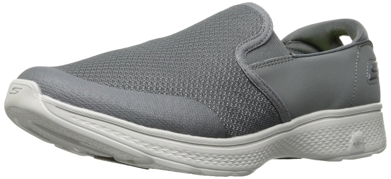 gris 42.5 EU Skechers Go Walk 4 - Contain Femmes Toile Chaussure de Marche
