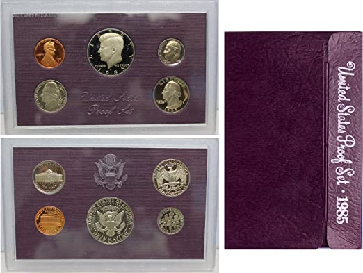 Empty Packaging Replacement Silver Proof Set Box /& COA No Coins 2014